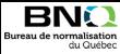 Logo de Bureau de normalisation du Québec