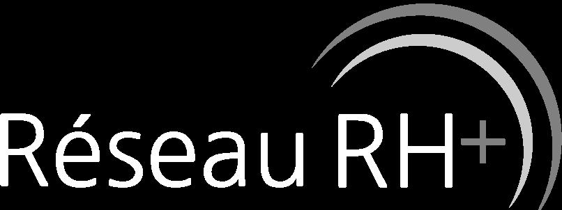 Logo réseau rh plus blanc